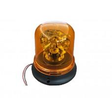 """Маячок проблесковый (жёлтый) магнит + стационар 24В """"стакан"""" (H=192мм, D=165мм)"""