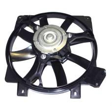 Мотор охлаждения радиатора 1118 в сб. с кожухом (без резистора)