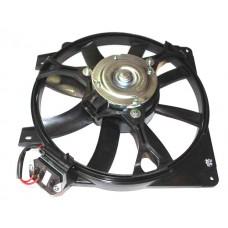 Мотор охлаждения радиатора 1118 в сб. с кожухом (с резистором)