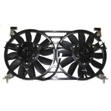 Мотор охлаждения радиатора 21214 в сборе с кожухом 2 мотора