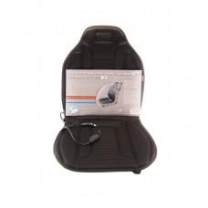 Накидка на сиденье с подогревом, терморегулятором.черная AUTOVIRAZH