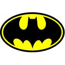 """Наклейка металлическая 3D """"Бэтмен лого"""""""