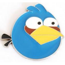 """Наклейка металлическая 3D """"Птица синяя"""" Angry Birds"""