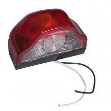 Плафон освещения номера грузовой 119992 светодиодный красный