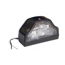 Плафон освещения номера грузовой 119992 светодиодный черный