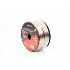 Провод 2х0,823 акустический 18AWG 100м прозрачный ACV