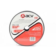 Провод 2х1,25мм 100м монтажный черно/красный ACV
