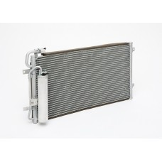 Радиатор кондиционера 2170 в сборе с ресивером (аналог Halla)