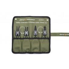 Набор съемников стопорных колец 180мм 4 шт.в сумке