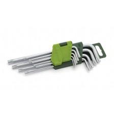 Набор ключей TORX 9шт (Т10,15,20,25,27,30,40,45,50)