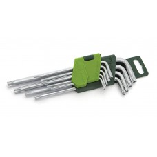 Набор ключей TORX 9шт с отв.(Т10,15,20,25,27,30,40,50)