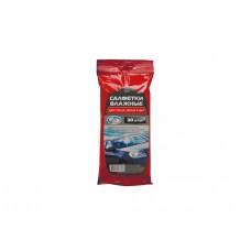 Салфетки влажные AUTOVIRAZH для стекол (30шт)