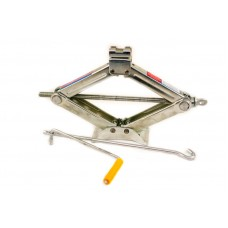 Домкрат ромб 1,5т с стальн.опорой 385 мм подъем AUTOVIRAZH