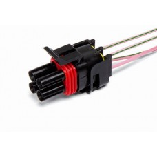 Разъем проводки на датчик кислорода 2110 4-х конт. штырьевая
