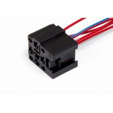 Разъем проводки на реле 2110-12 (5 проводов), стеклоочистителя АХ-340-4
