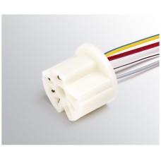Разъем проводки на переключ. вентилятора отопителя (4 пров) 2108-21099,2113-2115