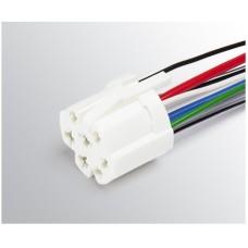 Разъем проводки на переключ. вентилятора отопителя 1117, 1118, 1119