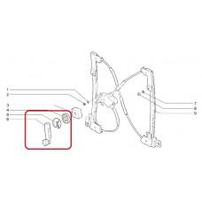 Ручка стеклоподъемника 2108 (силумин.)