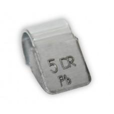 Грузы набивные литой диск  5гр (100 шт/уп)