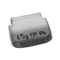 Грузы набивные стальной диск 15гр (100 шт/уп)