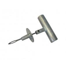 Шило (игла открытая)  с ограничителем и металлической ручкой Dr. REIFEN