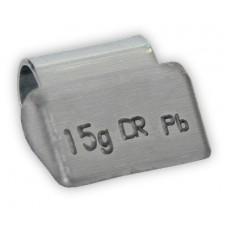 Грузы набивные литой диск 15гр (100 шт/уп)