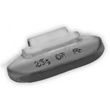 Грузы набивные стальной диск 25гр (100 шт/уп)