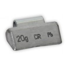 Грузы набивные литой диск 20гр (100 шт/уп)