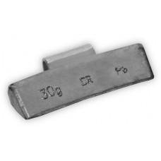 Грузы набивные литой диск 30гр (100 шт/уп)