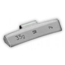 Грузы набивные литой диск 35гр (50 шт/уп)