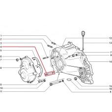 Шпилька М 8х 65х16 задней крышки КПП