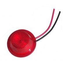 Светодиодный элемент (LED) фонаря габаритного Е 101 красный 24V