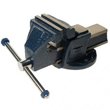 Тиски 100мм (стальные G.S. стандарт) 4.5кг ЭВРИКА